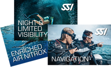 SSI Night, Navigation and Nitrox Bundle