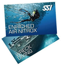 SSI Wreck and Nitrox Bundle