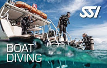 SSI Boat Diving Course