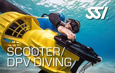 SSI Scooter / DPV Diving