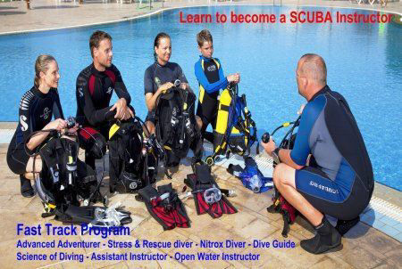 SSI Fast Track Adventure Diver to Instructor Program
