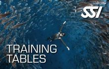 SSI Freediving Training Tables