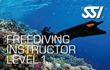 SSI Freediving Basic, Level 1 and Pool Instructor