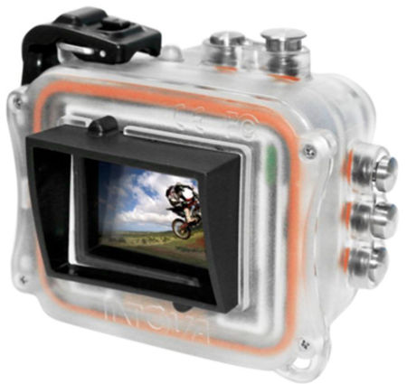 Intova HD2 camera, prodive central coast, rear