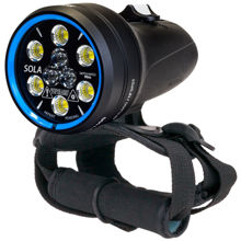 sola video light, video, Light and Motion, lumens, prodive, pro-dive, nsw central coast.