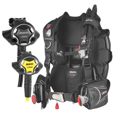 mares loop alternate air source, pure bcd, loop regulator, loop octopus, mares regulator, prodive central coast, pro-dive, mares regulator, pure bcd, alternate air source