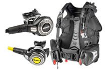 mares bolt sls bc, abyss alternate air source, bolt bcd, abyss 52X regulator, loop octopus, mares regulator, prodive central coast, pro-dive, mares regulator, pure bcd, alternate air source