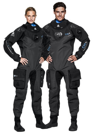 The Waterproof D1X Hybrid ISS Trilaminate Drysuit is the world's first insulated, constant volume Dry Suit.