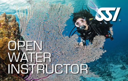 train to become a scuba instructor