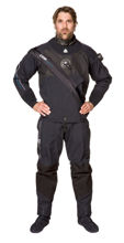 waterproof D9 Breathable drysuit, prodive central coast