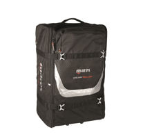 mares cruise roller bag, folds up to store