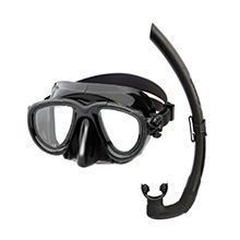 Tana mask with dual snorkel