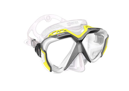 x-wire mask, mares mask, silicone mask, prodibve central coast