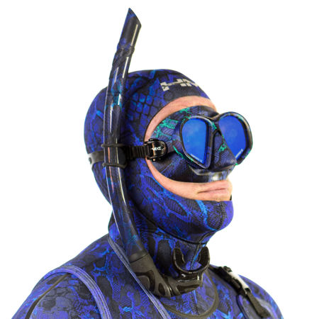 hunt master harbinger, blue camo mask, prodive central coast