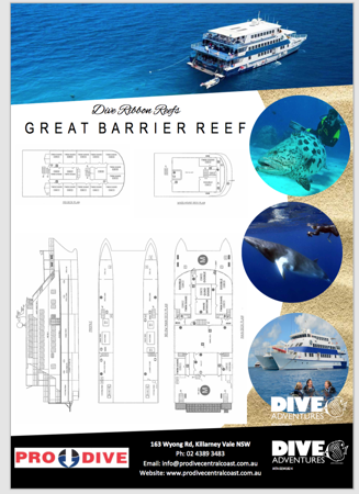 great barrier reef, prodive central coast